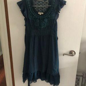 Mine teal dress